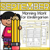 Kindergarten Morning Work: September