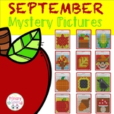 September Mystery Picture Fill in the 100 chart