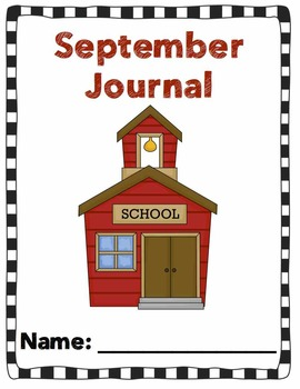 September Writing Prompts: NO PREP Booklet With 30 Writing Prompts