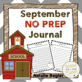 September Writing Prompts - 1st Grade, 2nd Grade, & 3rd Grade No Prep Booklets