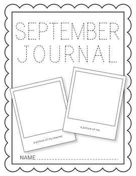 September NO PREP Journal Pages (Early Childhood)