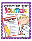 September NO PREP Journal Prompts