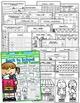 September NO PREP Math and Literacy (3rd Grade)
