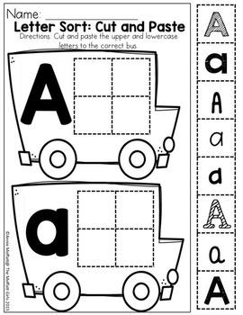September NO PREP Packet (Preschool)