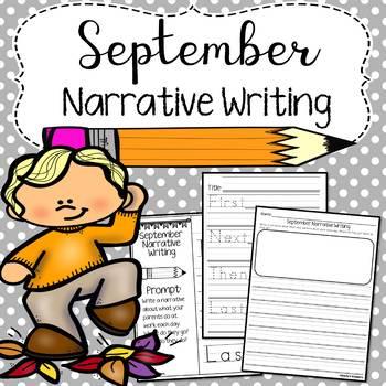 September Narrative Writing