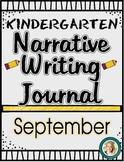 September Narrative Writing Journal