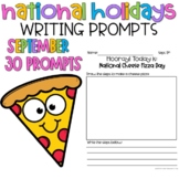 September National Holidays Writing Prompts