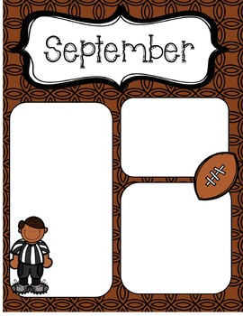 September Newsletters *Editable*