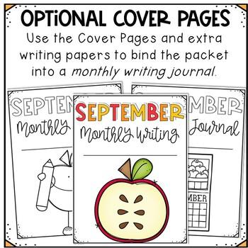 September No Prep Journal Prompts