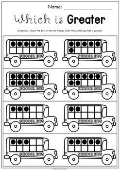 September No Prep Printables for Kindergarten