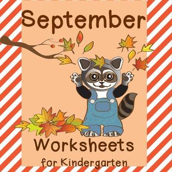 September No Prep Worksheets