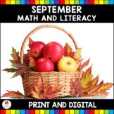 September No Prep and Digital Activities (Kindergarten)