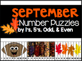 September Number Puzzles {45 Puzzles Included}