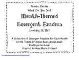 September, October, November, and December Emergent Readers