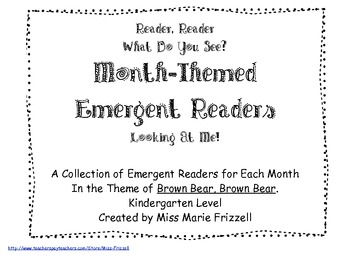 September, October, November, and December Emergent Readers