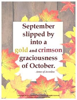 September/October Poster