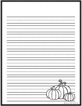 September Writing Paper Bundle