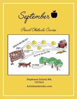 September Pencil Obstacle Course
