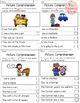 September Picture Comprehension Cards and Worksheets
