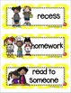 September Picture Word Cards K-3