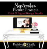 September Picture Writing Prompts - Bundled Print & Digital