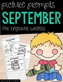 September Picture Writing Prompts for Beginning Writers