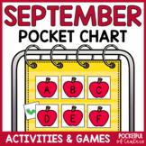 September Pocket Chart Activities