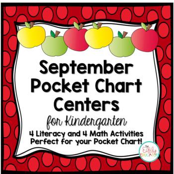 September Pocket Chart Centers
