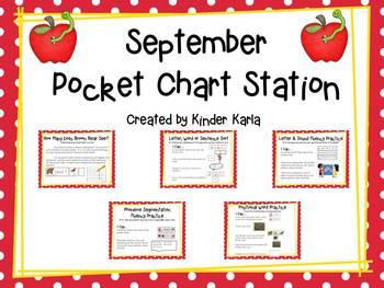 September Pocket Chart Station