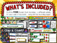 September Pocket Charts --- Four Math and Literacy Pocket