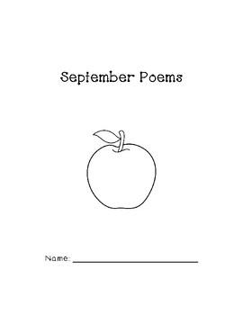 graphic about 30 Days Has September Poem Printable named September Poems Worksheets Instruction Components TpT