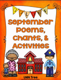 September Poems, Chants, & Activities
