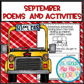 September Poems and Activities for the Classroom