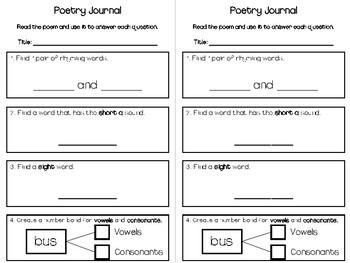 September Poetry Journal