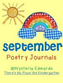 September Poetry Journals