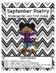 September Poetry Kindergarten & First Grade