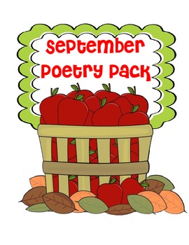 September Poetry Pack