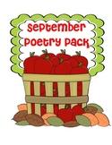 September Poetry Pack
