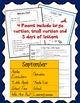 September Poetry for Shared Reading Kindergarten