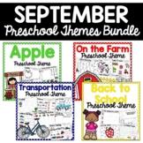 September Preschool Themes Bundle