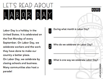 September Primary Informational (Non-Fiction) Text Pack {#TeacherMom}