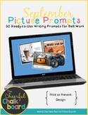 September Print or Present Picture Prompts