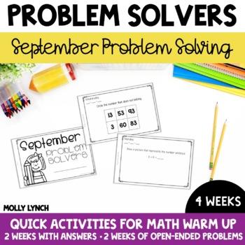 September Problem Solving