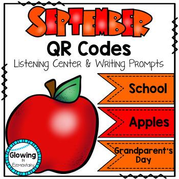 September QR Codes Listening Center Bundle