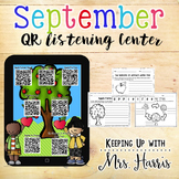 September QR Listening Center Stations