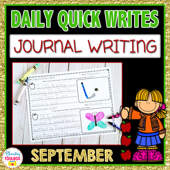 September Quick Writes (Daily Journal Writing Prompts)