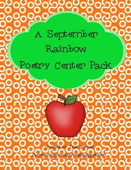 September Rainbow Poetry Center Pack