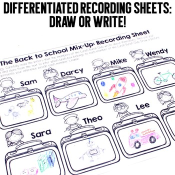 September Read and Infer Back to School Mix Up