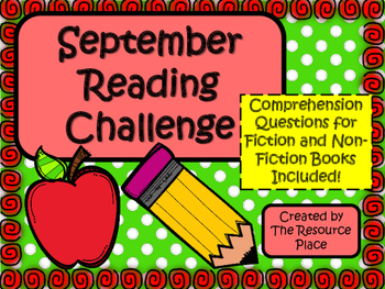 NO PREP September Reading Challenge!