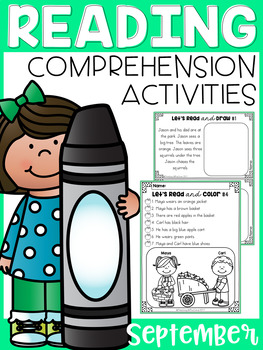 September Reading Comprehension Activities